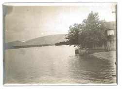 PHOTOGRAPHIE ANCIENNE LAC DE GENEVE - Luoghi