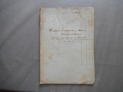 9 AVRIL 1841 TERROIR D'AUBENTON &JANTES AISNE DIVISION  & BORNAGE DES PROPRIETES DES ENFANTS BOUCLETTE RABATTEE 10 PAGES - Manuscripts