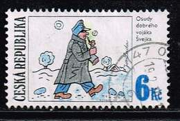 Tschechische Republik 1997, Michel# 155 O Josef Lada's Illustration: SVEJK - Tschechische Republik