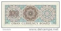 OMAN  P. 7a 100 B 1973 UNC - Oman