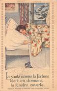 ¤¤  -  Carte D'Illustrateur  - Campagne Contre La Tuberculose  -  Santé , Médecine   -  ¤¤ - Gesundheit