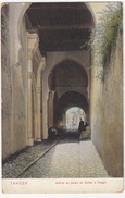 Tanger: Entrée Du Palais Du Sultan à Tanger (A. Benzaquen, Tanger) - (Maroc) - Tanger