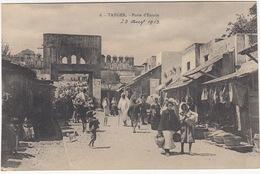 Tanger: Porte D'Entrée - 23 Aug 1913 - (Au Bon Mathurin, Tange) - (Maroc) - Tanger