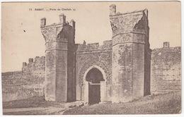 71 Rabat: Porte De Chellah . LL.  - (Maroc) - Rabat
