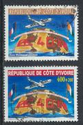 °°° COSTA D´AVORIO COTE D´IVOIRE - Y&T N°1093/94 - 2002 °°° - Costa D'Avorio (1960-...)