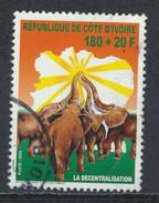 °°° COSTA D´AVORIO COTE D´IVOIRE - Y&T N°1095 - 2002 °°° - Costa D'Avorio (1960-...)
