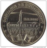 S08A138 - 2008 OSSUAIRE DE DOUAUMONT 5 - Armistice Du 11.11.2008 / MONNAIE DE PARIS - Monnaie De Paris