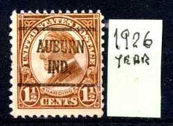 STATI  UNITI - U.S.A. - Year 1926 - OVERASTAM. - Usato - Used. - United States