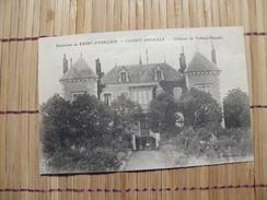 A407. CPA. 03. CESSET-BREUILLY. Chateau De Valbois.  Beau Plan Animé .ecrite - France