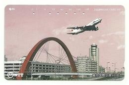 Giappone - Tessera Telefonica Da 105 Units T186 - NTT, - Avions