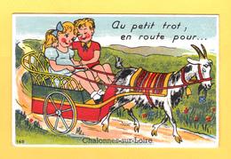 CHALONNES SUR LOIRE 49 ( CARTE A SYSTEME ) TRES BON ETAT ! ! ! - Chalonnes Sur Loire
