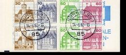 Markenheftchen Bund Gestempelt  MH 23 E Stempel Nürnberg - [7] Repubblica Federale