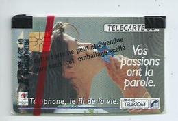 Télécarte Neuve Sous Blister ,Vos Passions Ont La Parole 50 Unités - France