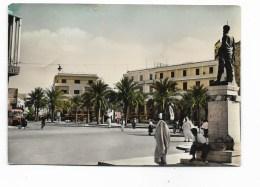 TRIPOLI PIAZZA CASTELLO VIAGGIATA FG - Libya