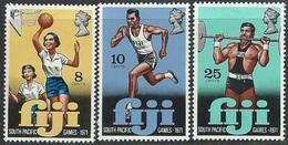 Fiji   1972  Sc#321-3  Sports Set MNH**  2016 Scott Value $2.50 - Fiji (1970-...)