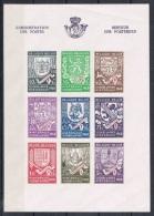 Année 1941  COB BL10A** (547A à 555A)  - Secours D'hiver N°2 - Non Dentelé - Cote 20,00€ - Unused Stamps