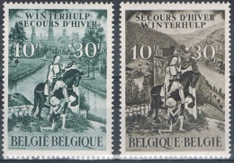 """Année 1943  COB 639** à 640** - Secours D'hivers N°8 - """"Saint Martin VI""""  -  Cote 7,00€ - Unused Stamps"""