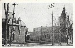 Université Mac Gill, Montréal: View Of Presbyterian College & Presbyterian Church, Rue McTavish - Carte Non Circulée - Montreal