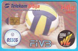 VOLLEYBALL WORLD LEAGUE 2005. - FINAL TOURNAMENT  ( Serbia Limited Chip Card ) * Pallavolo Volley Ball Flugball Voleibol - Jugoslawien