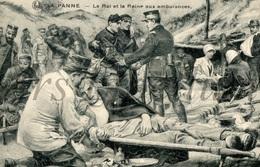 ROYALTY / Belgium / Belgique / Koning Albert I / Roi Albert I / King Albert I / Reine Elisabeth / Koningin Elisabeth - Guerre 1914-18