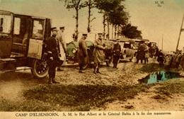 ROYALTY / Belgium / Belgique / Roi Albert I / Koning Albert I / Général Baltia / 1925 / Photo Alexander Herld, Camp - Elsenborn (camp)