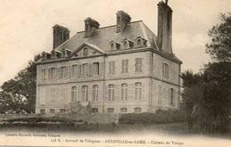 CPA - ANNEVILLE-en-SAIRE (50) - Château De Tourps En 1906 - Autres Communes