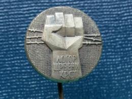 Z136 - CRVENI KRST NIS, Konzentrationslager Serb And Judaica,Jude,Concentration Camp, World War II   PIN YUGOSLAVIA - Pin's