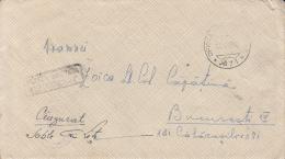 WARFIELD COVER, WW2, CENSORED, WARFIELD POST OFFICE NR 71, 1945, ROMANIA - Otros