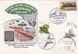 Australia 1982 Sydney Tramway Museum Souvenir Envelope - Tramways