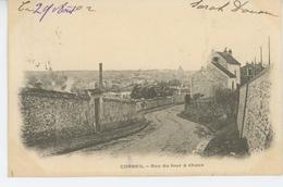 CORBEIL - Rue Du Four à Chaux (carte Précurseur) - Corbeil Essonnes