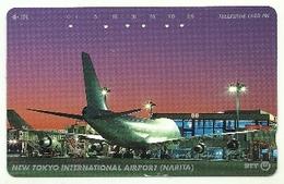 Giappone - Tessera Telefonica Da 105 Units T187 - NTT, - Avions