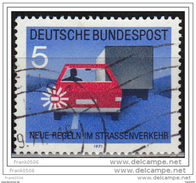 Germany 1971, Signal To Pass, Used - [7] Federal Republic