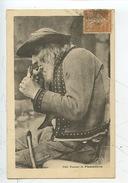 Fumeur De Plomodiern (n°1043 Coll Villard Quimper) Bretagne Folklore - Plomodiern