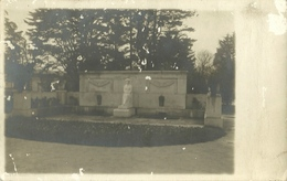 TARJETA POSTAL  FOTOGRAFICA INAGURACION MONUMENTO CONCHA ESPINA AÑO 1927 ESPAÑA SANTANDER - Cantabria (Santander)