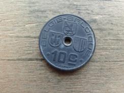 Belgique  10  Centimes  Fl-fr  1941  Km 126 - 02. 10 Centimes