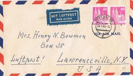 20617. Carta Aerea UFFENHEIM (Alemania Zona Anglo Americana) 1949 - Zona Anglo-Américan