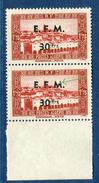 France / Algérie - Variété N°Yvert Télégraphe 2   2 Scans Recto Et Verso  Réf. D 145 - Algérie (1924-1962)