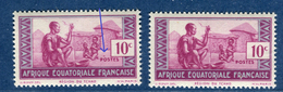 France / A.E.F. - Variété N°Yvert 191  2 Scans Recto Et Verso  Réf. D 147 - Neufs