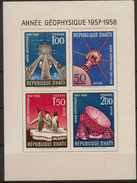 HAITI 1958, Geophysical Year ( Hinged) - International Geophysical Year