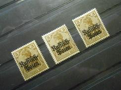 D.R.Mi 1  3Pf*/MLH - Deutsche Besetzungsausgaben 1914/18 (Deutsche Post In Polen) - 1915 - Mi € 0,80 Preis Einzelma - Occupation 1914-18