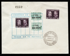 A4359) Colombia Kolumbien Cover From 19.12.47 - Colombia
