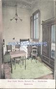 63517  URUGUAY MONTEVIDEO GRAN HOTEL MORINI DORMITORIO INTERIOR POSTAL POSTCARD - Uruguay