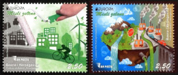 Bosnia And Herzegovina 2016 Europa CEPT, Think GREEN, Environment, Bicycle, Set MNH - Europa-CEPT
