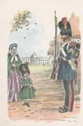 Grenadiers Sergent 1843 (Compte De Hainaut) Signé  -  James Thyriar - - Uniformes