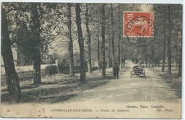 Cormeilles En Parisis-Route De Sannois-(CPA) - Cormeilles En Parisis