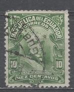 Ecuador 1925. Scott #212 (U) President, Garcia Moreno * - Equateur