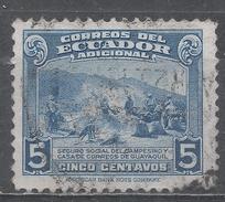Ecuador 1943. Scott #RA55 (U) Peons ** - Equateur