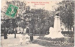 71. CHALON-SUR-SAONE. Square Chabas. 20 - Chalon Sur Saone