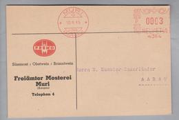 Motiv Lebensmittel 1935-03-10 Fremo Freiämter Mosterei Muri Süssmost-Obst-Branntwein Firmenfrei-O - Alimentation