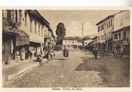 ALBANIA-PIAZZA DEL BAZAR-ORIGINALE 100%-